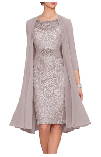 1. Newdeve Chiffon Mother of The Bride Dress