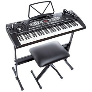 best digital piano Alesis Melody 61 Beginner Bundle