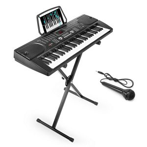 Hamzer 61-Key Digital Music Piano Keyboard – Portable Electronic