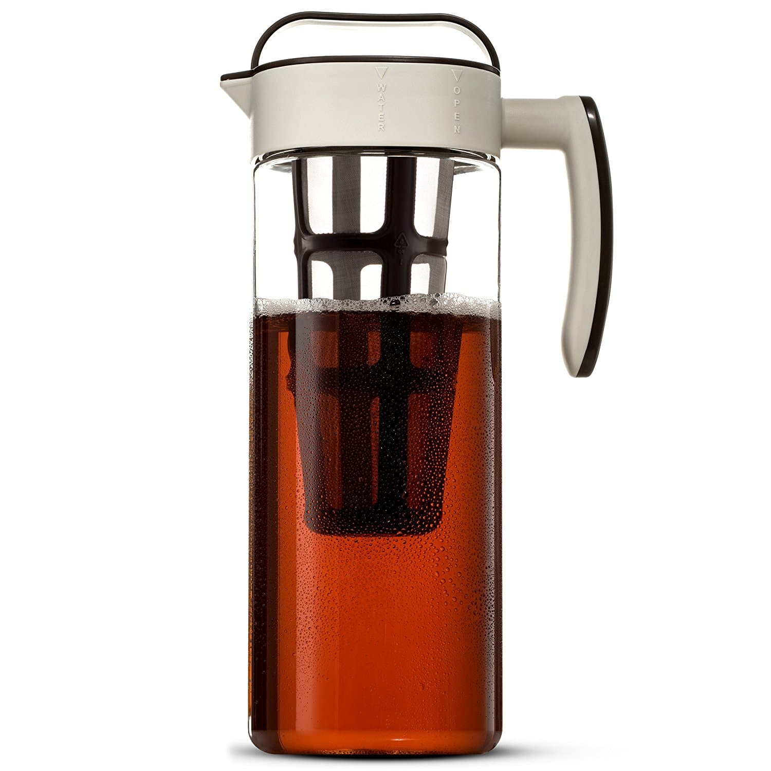 ​Komax Large Cold Brew Coffee Maker 2 Quart (8 Cups) Tritan Pitcher
