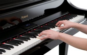 digital piano keyboards