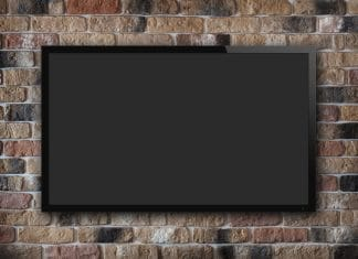TV in a wall