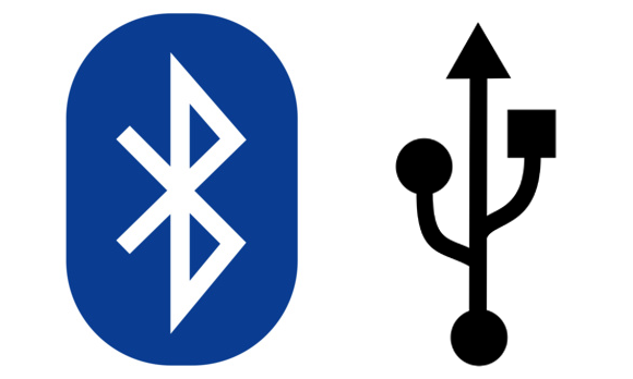bluetooth and usb