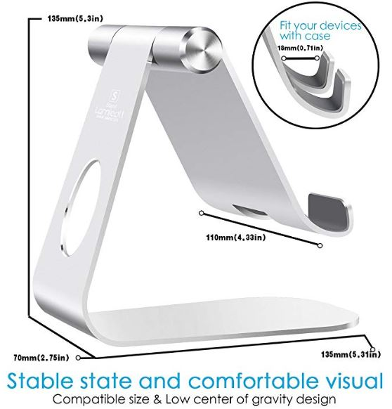 Features of a Lamicall tablet stand