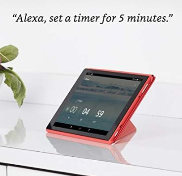 Fire HD 10 inch tablet with Alexa Hands Free