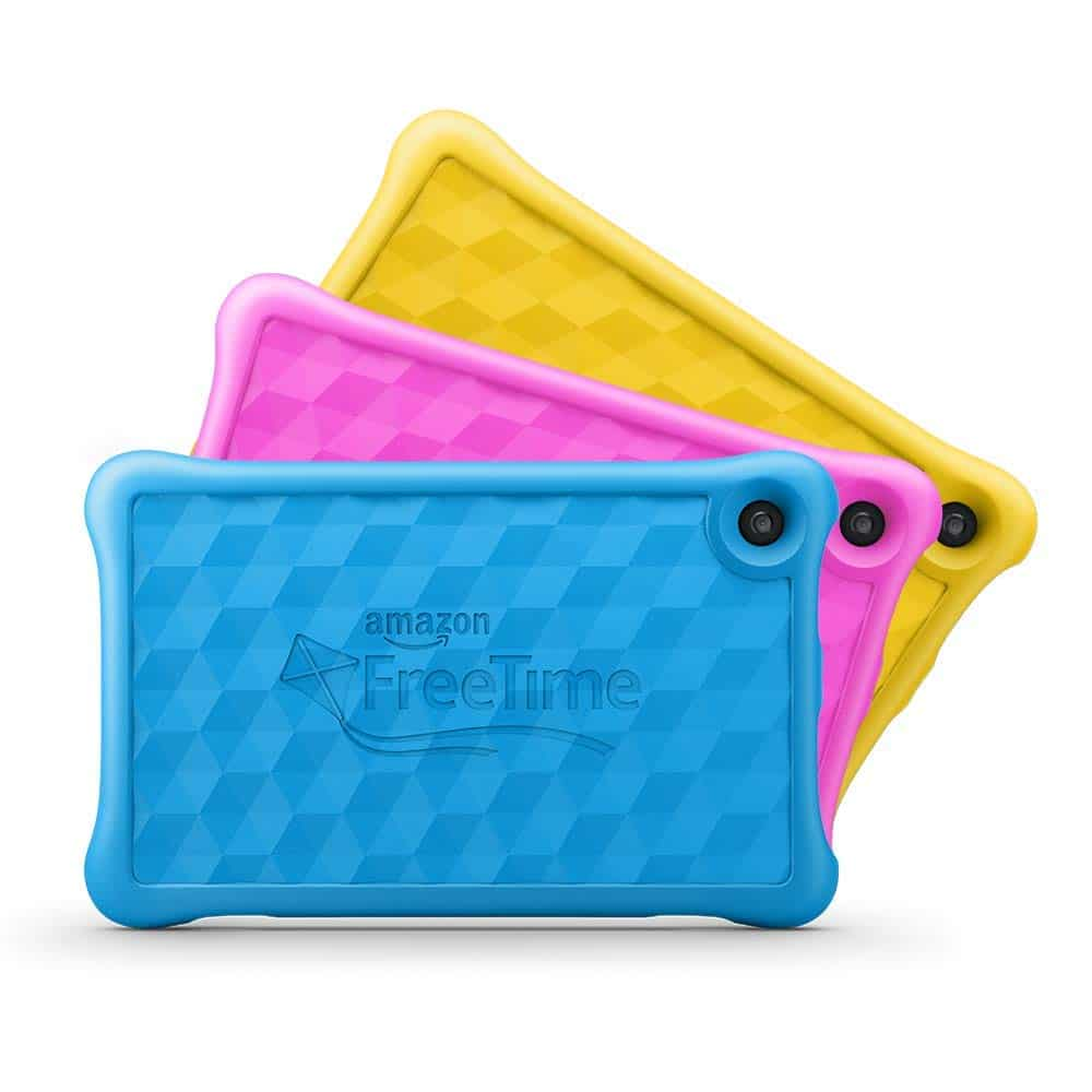 different colors of amazon fire hd 8 for kids